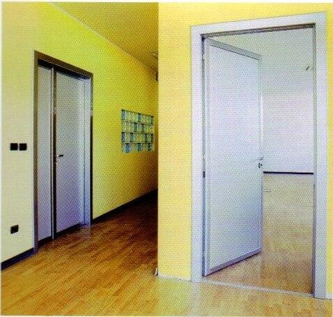 porte interna in alluminio