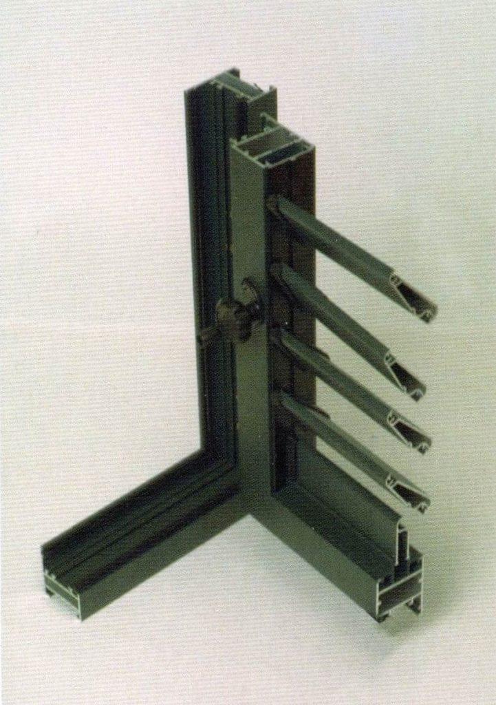 profilo persiane in alluminio