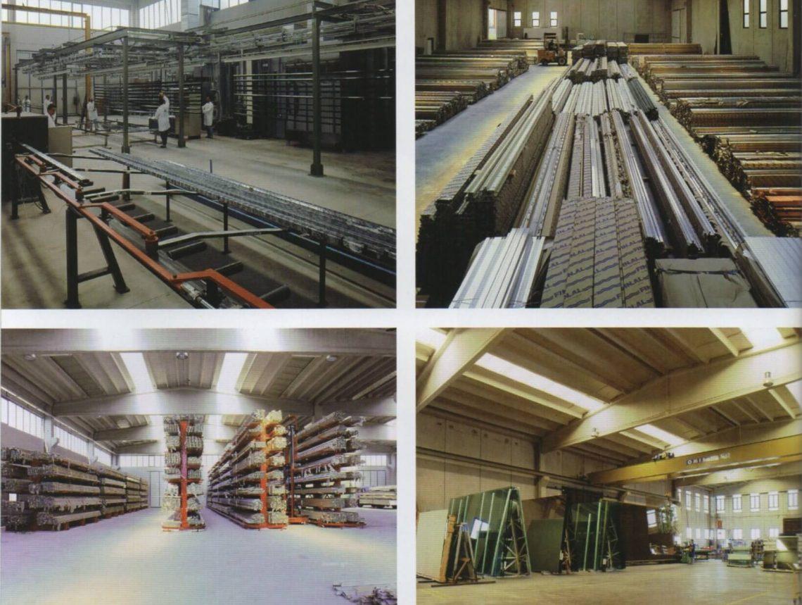 Azienda deposito alluminio